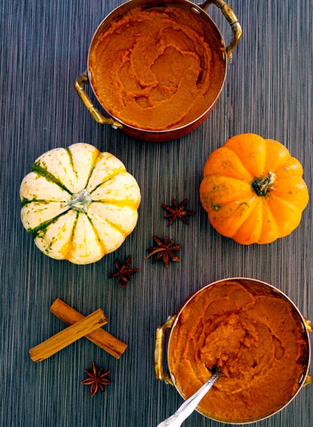 One more reason to dig into this dessert – it's basically a crust-less pumpkin pie!