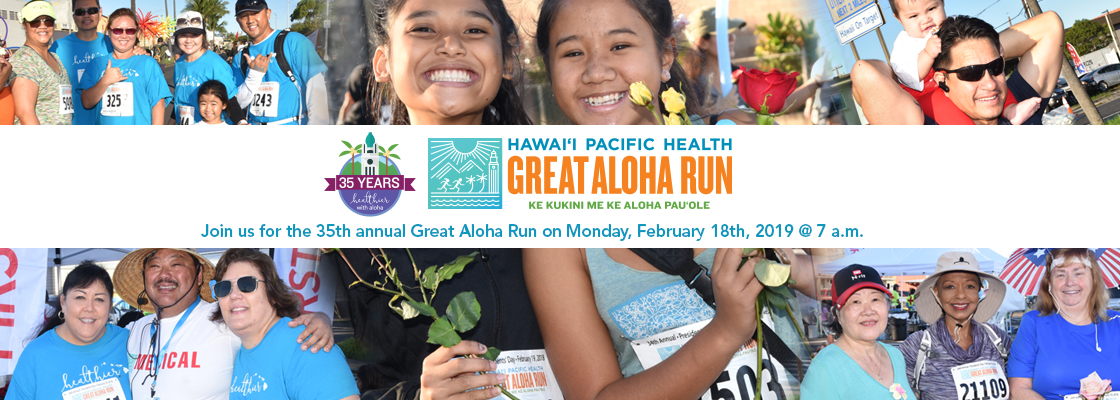 Great Aloha Run participants and volunteers of last year's run
