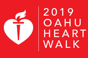 Oahu Heart Walk 2019
