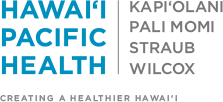 Bottom logo for Hawai'i Pacific Health Kapiolani Pali Momi Straub Wilcox