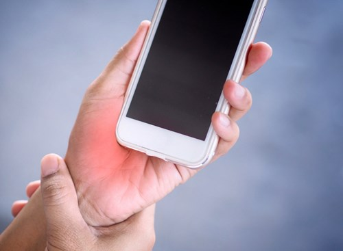 Too much texting can exacerbate De Quervain's tenosynovitis, or tendonitis in the fleshy part of the thumb near the wrist.