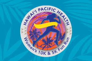Hawaii Pacific Health Women's 10 K Logo