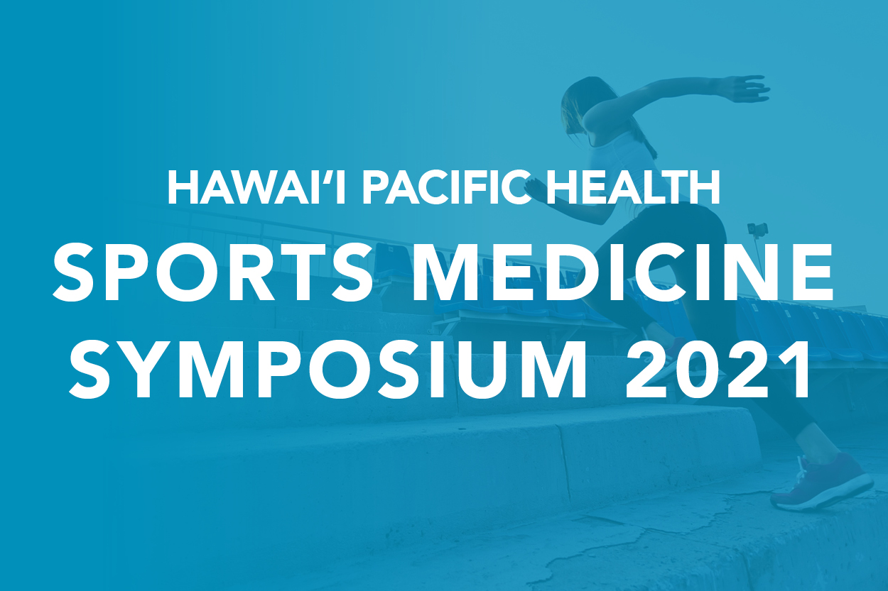 Hawaii Pacific Health Sports Medicine Symposium Logo