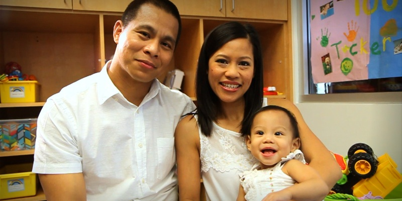 Sophia Manansala and her family