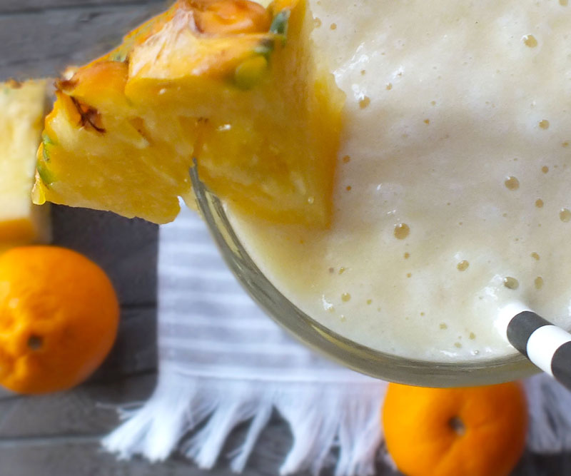 Pineapple Orange Dreamsicle Slushies