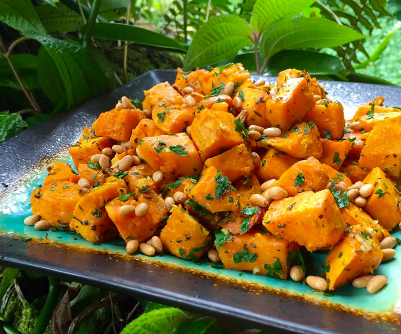 Wilcox's Rosemary Roasted Sweet Potatoes