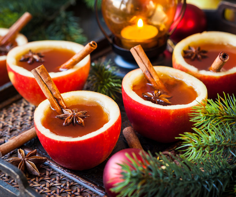 festive natural cinnamon treats