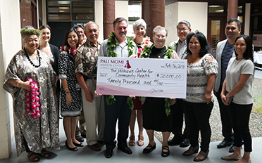 Wahiawa Center for Community Health Receives Support From Pali Momi