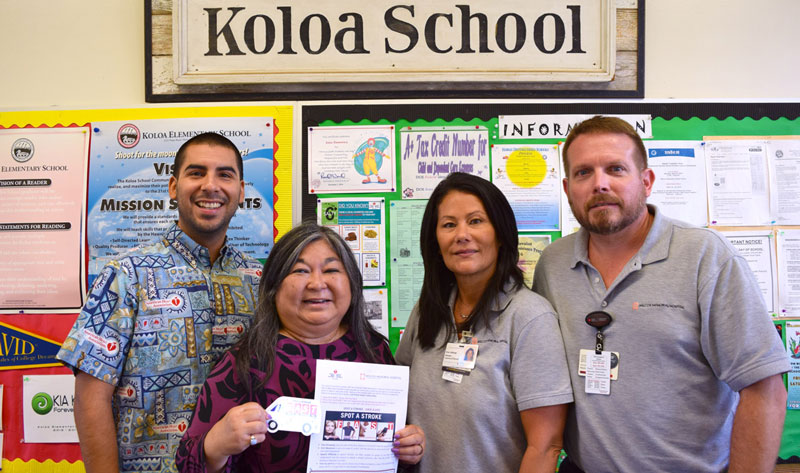 Wilcox Partners with Local Schools to Teach Keiki the Signs of a Stroke