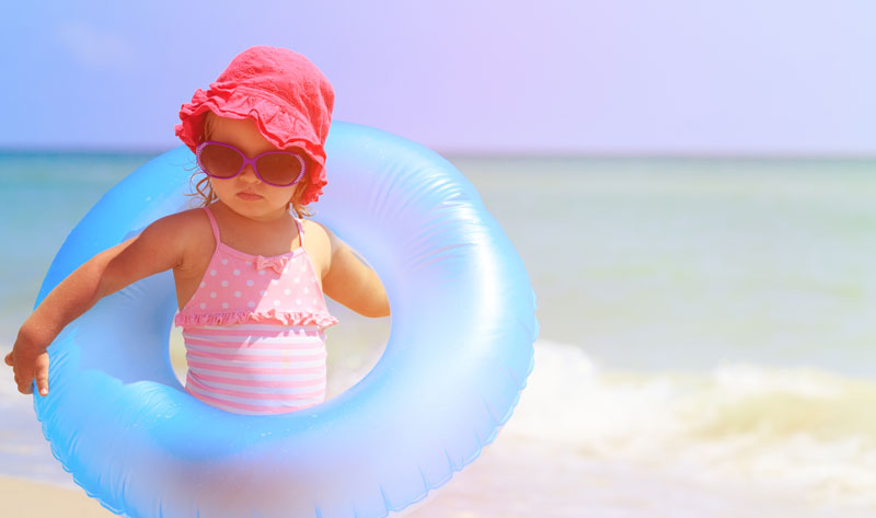 Ocean Safety Advice for Your Beach Baby