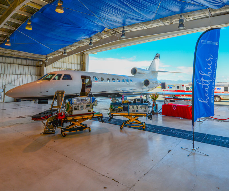 New Falcon 50 Air Ambulance