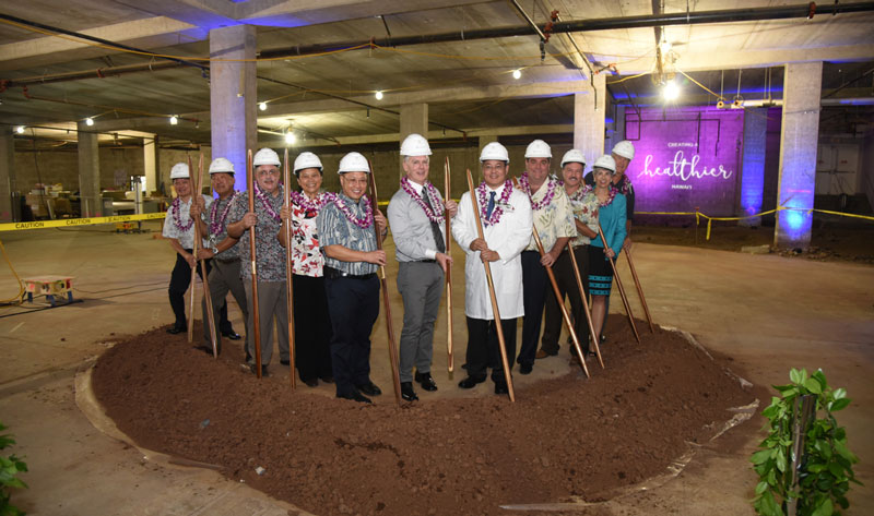Groundbreaking Held for New Hawaii Pacific Health Cancer Center at Pali Momi