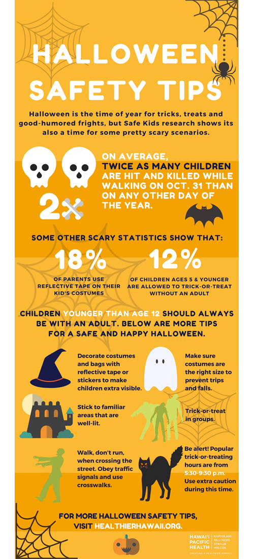 Download this checklist to have a happy, healthy Halloween.