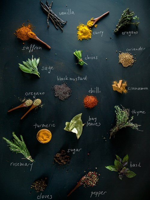 Keep an eye on the oven if using fresh herbs and spices so that they don't burn!