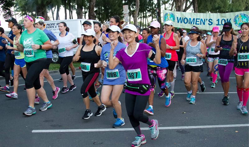 Hawaii Pacific Health Women's 10K Still Running Strong after 40 Years