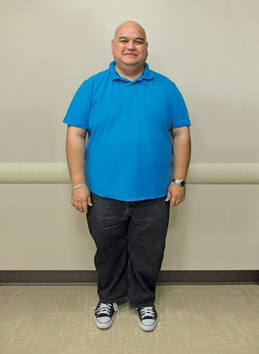 Felix Calvo before joining the Hawaii Pacific Health 360° Weight Management Center at Pali Momi