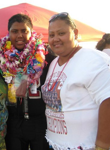 Francine Paaluhi before joining the Hawaii Pacific Health 360° Weight Management Center at Pali Momi