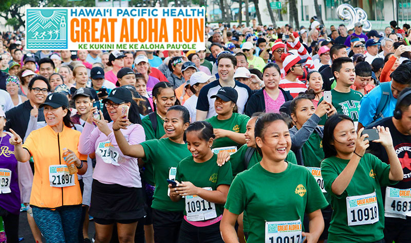 Hawaii Pacific Health Named Title Sponsor for 34th Annual Great Aloha Run