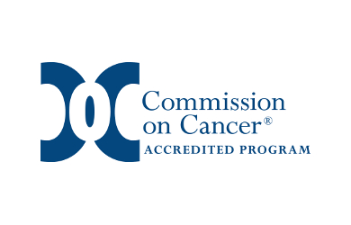 The commission on Cancer logo