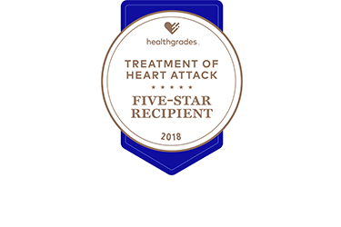 Five-Star for Treatment of Heart Attack Healthgrades Award