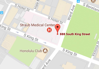 Map of Straub Medical Center