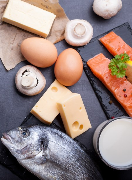 Pair calcium-rich foods with those high in vitamin D, such as salmon, eggs and mushrooms.