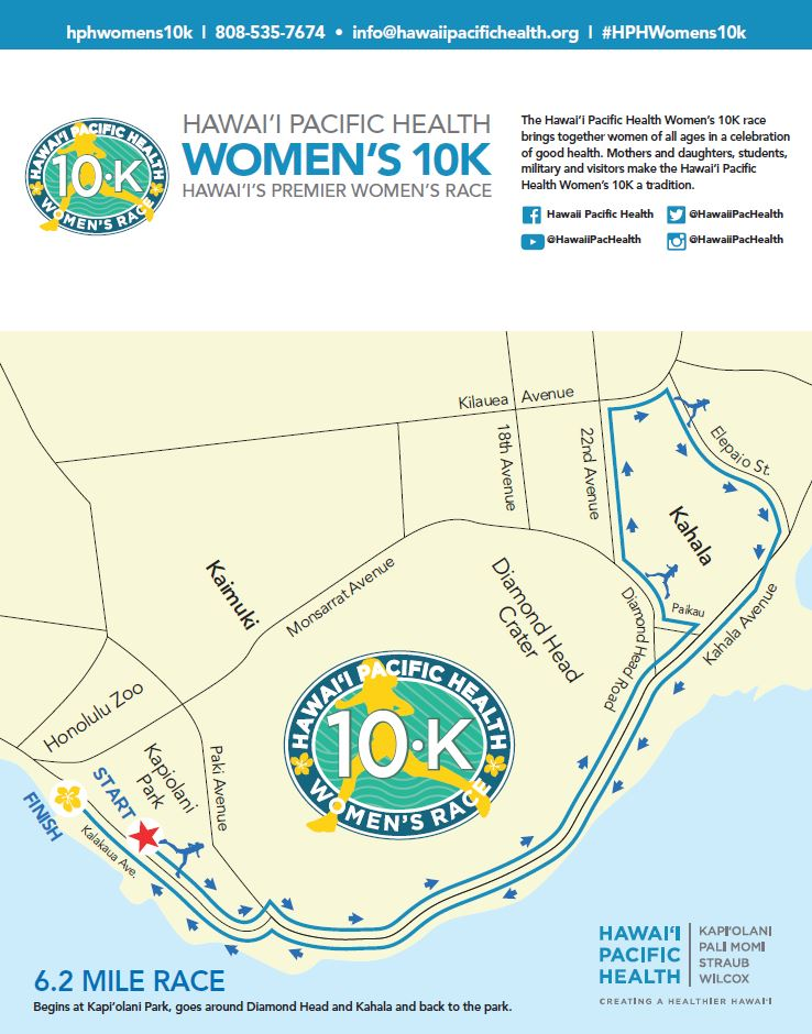 hph womens 10k map 2018