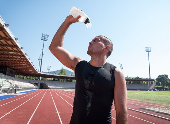 Staying hydrated before, during and after activities is essential to preventing heat illnesses.