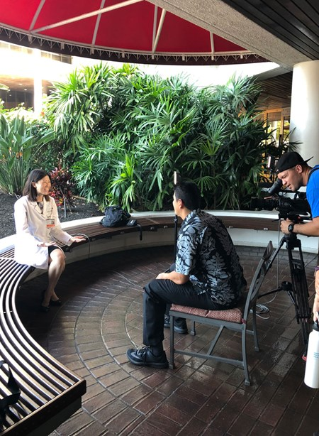 Pali Momi Medical Center Surgical Oncologist Dr. Briana Lau-Amii sat down with Hawaii New Now reporter Steve Uyehara for a pre-recorded interview about patient Cheri Beddow.