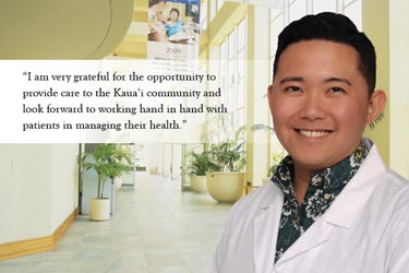 Dr. Eugene Lao at the Wilcox Medical Center