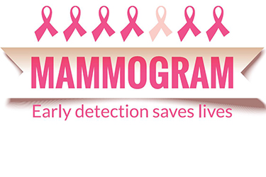 Mammogram Early detection saves lives graphic